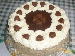 Recept: Ořechový dort