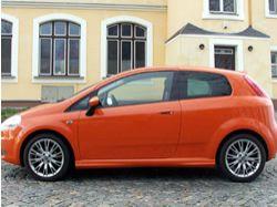 Fiat Grande Punto: Velká oranžová tečka