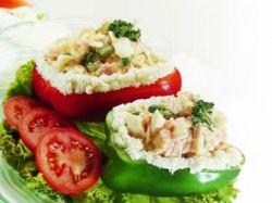 Recept: Papriky plněné sýrem
