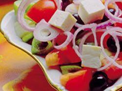 Recept: Šopský salát