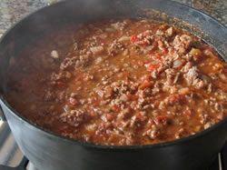 Recept: Chilli con carne