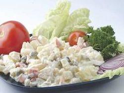 Recept: Bramborový salát s vejci a majonézou