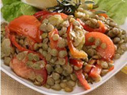 Recept: Čočkový salát