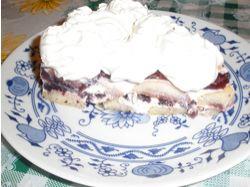 Recept: Piškotový dort ze zakysané smetany 2