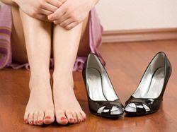 Nohy jako konve