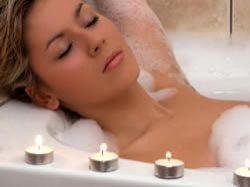 Koupel krásné Kleopatry