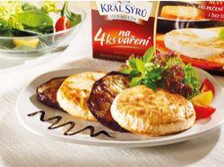 Recept: Král Sýrů  s lilkovými kroužky