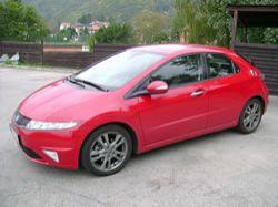 Honda  Civic 1,8 i-VTEC GT – Dar přítele Čepeláka a Mr. Spocka