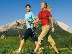 Nordic walking aneb severská chůze
