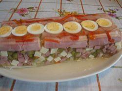 Recept: Velikonoční aspik