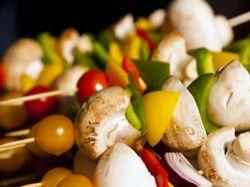Pikantní  salát z grilované zeleniny