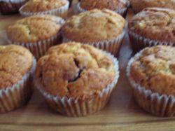 Recept: Banánovo-čokoládové muffiny