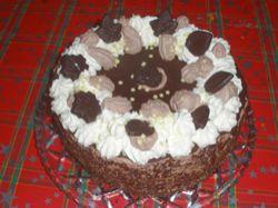 Recept: Kryštůfkův čokoládový dort