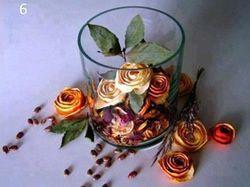 Pomerančové růže