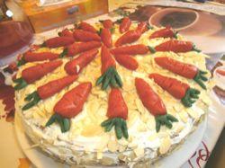 Recept: Mrkvový dort s mascarpone krémem