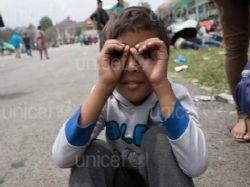 Pomoc UNICEF v Nep�lu