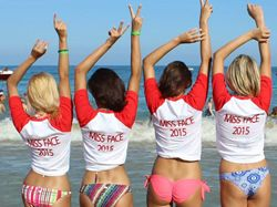 Miss Face 2015 se bl�� m�lov�mi kroky