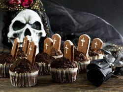 Recept: Halloweenské strašidelné cupcakes
